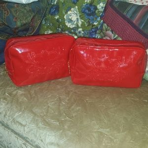 Pr.of Christian Lacroix Rouge Cosmetic Bags